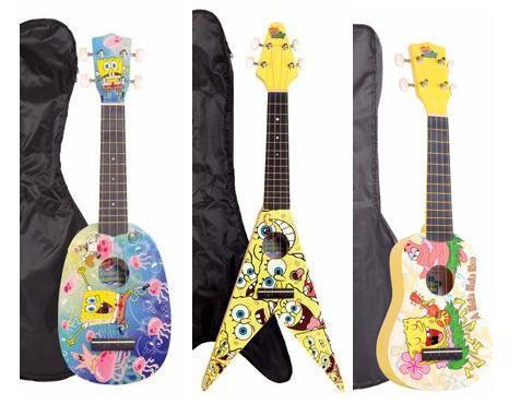 Ukulele bob l 39 ponge skyblog ukulele tabs cours tout for Porte ukulele